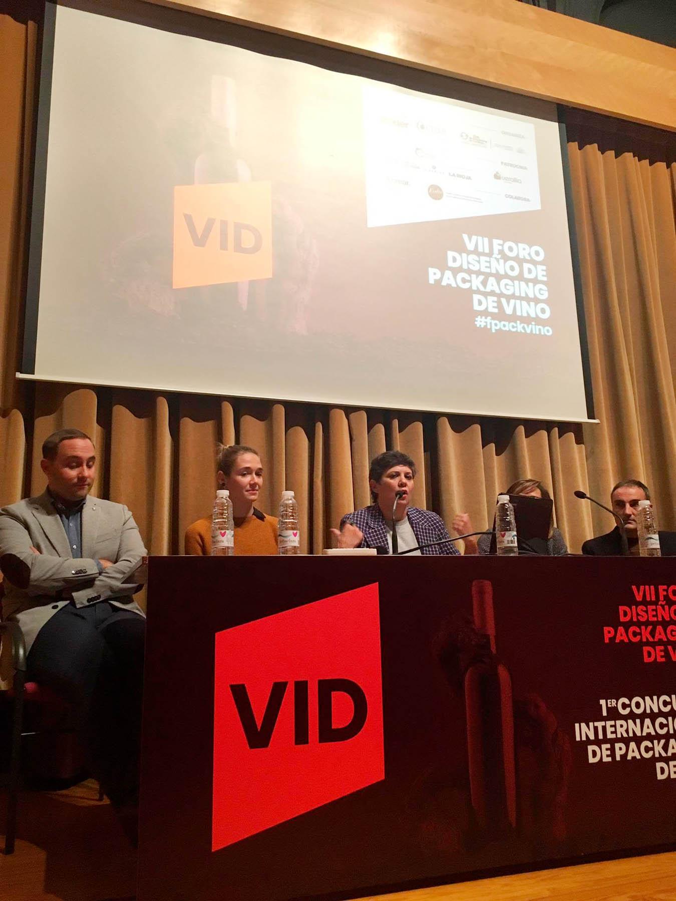 La Esdir participa en el VII Foro Diseño de Packaging del Vino
