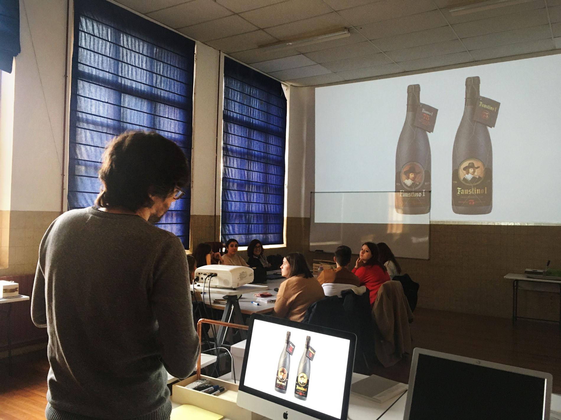 Gonzalo Díaz en el Máster de Packaging