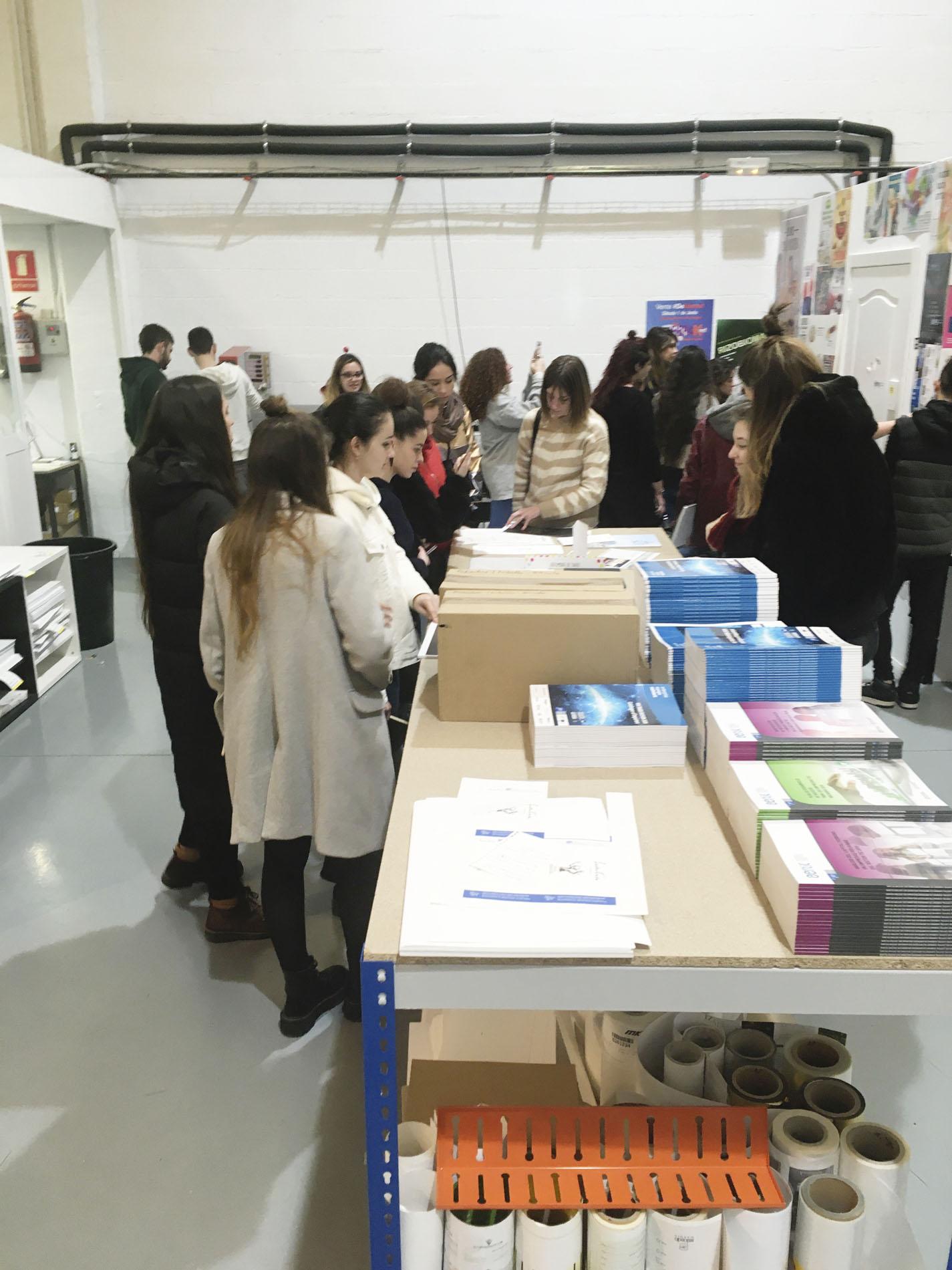 3º de Producto visita Beeprint y Digraf