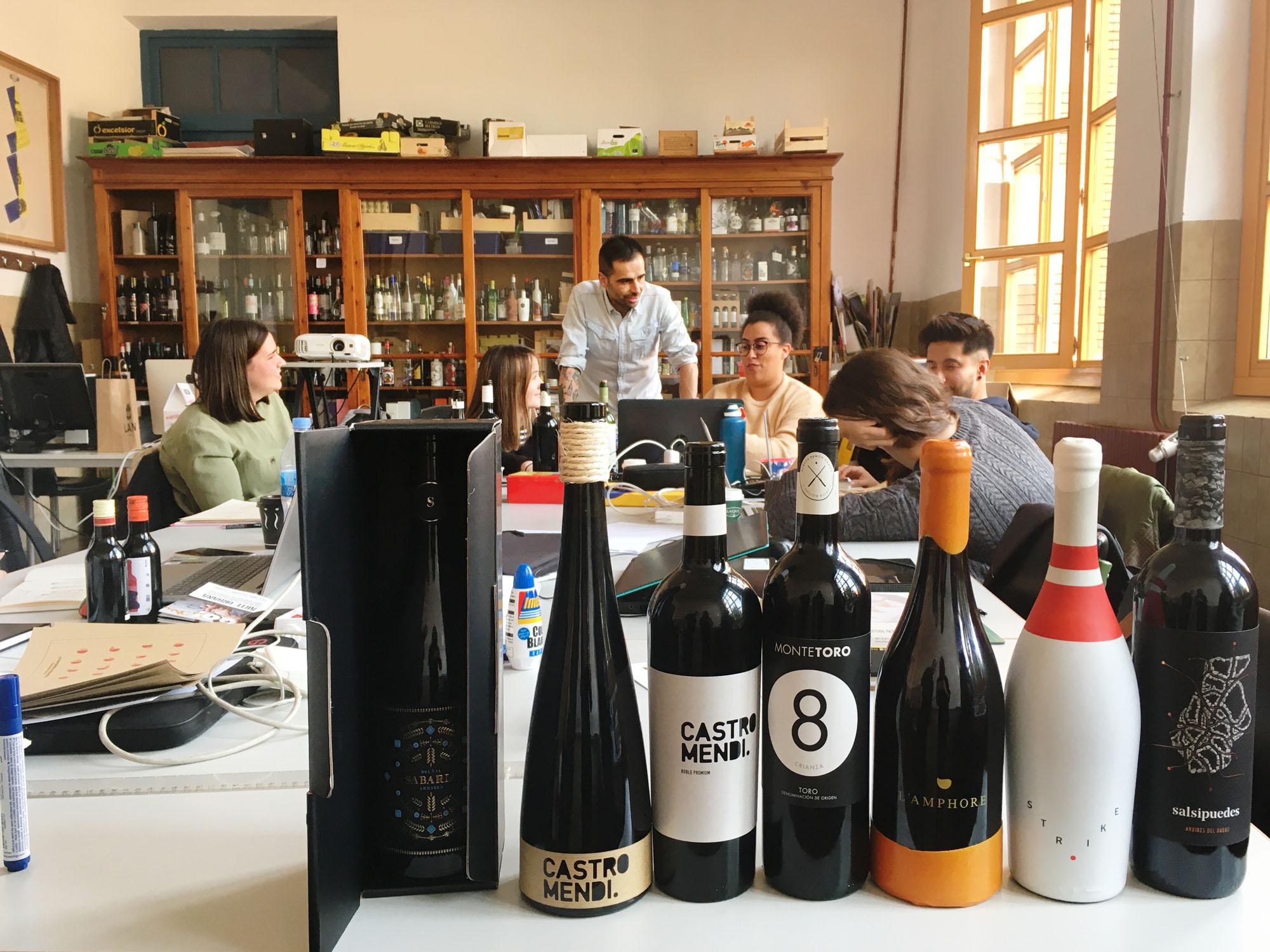 Masterclass de Javier Garduño: packaging alimentario y vitivinícola