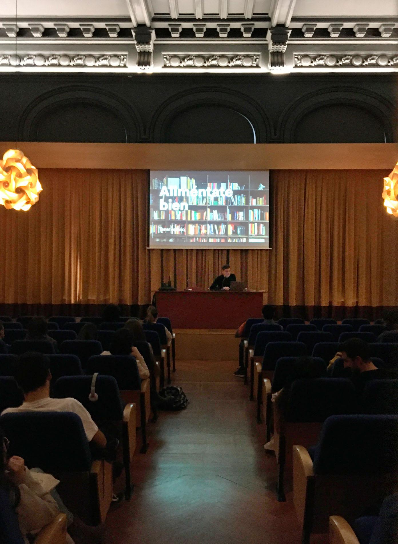 Conferencia y sesión formativa de Zorraquino