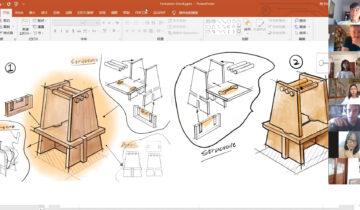OpenDesign. Colaboración Esdir-GDUT de China durante el confinamiento