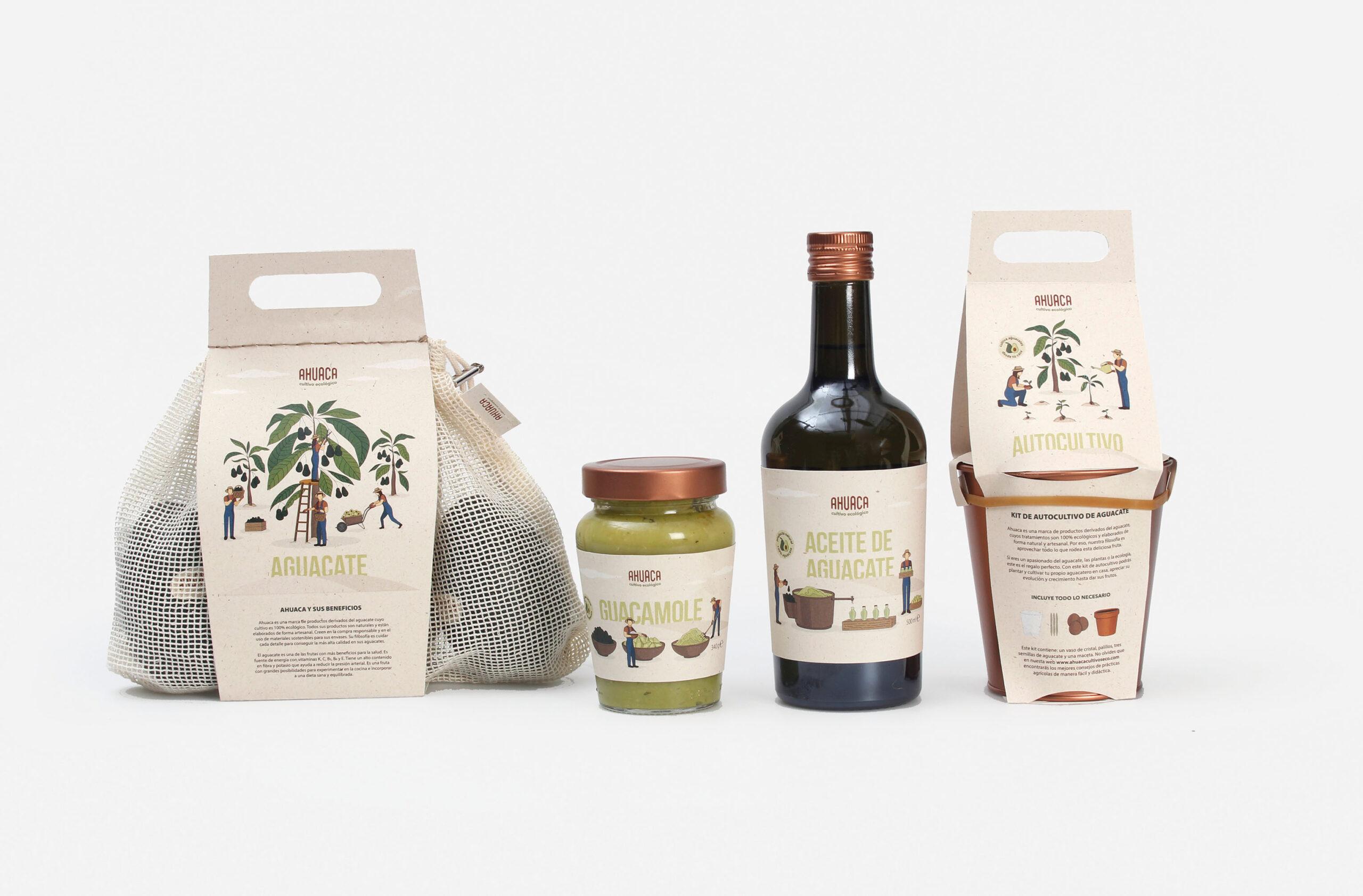 3 proyectos del Máster de Packaging finalistas PENTAWARDS 2020