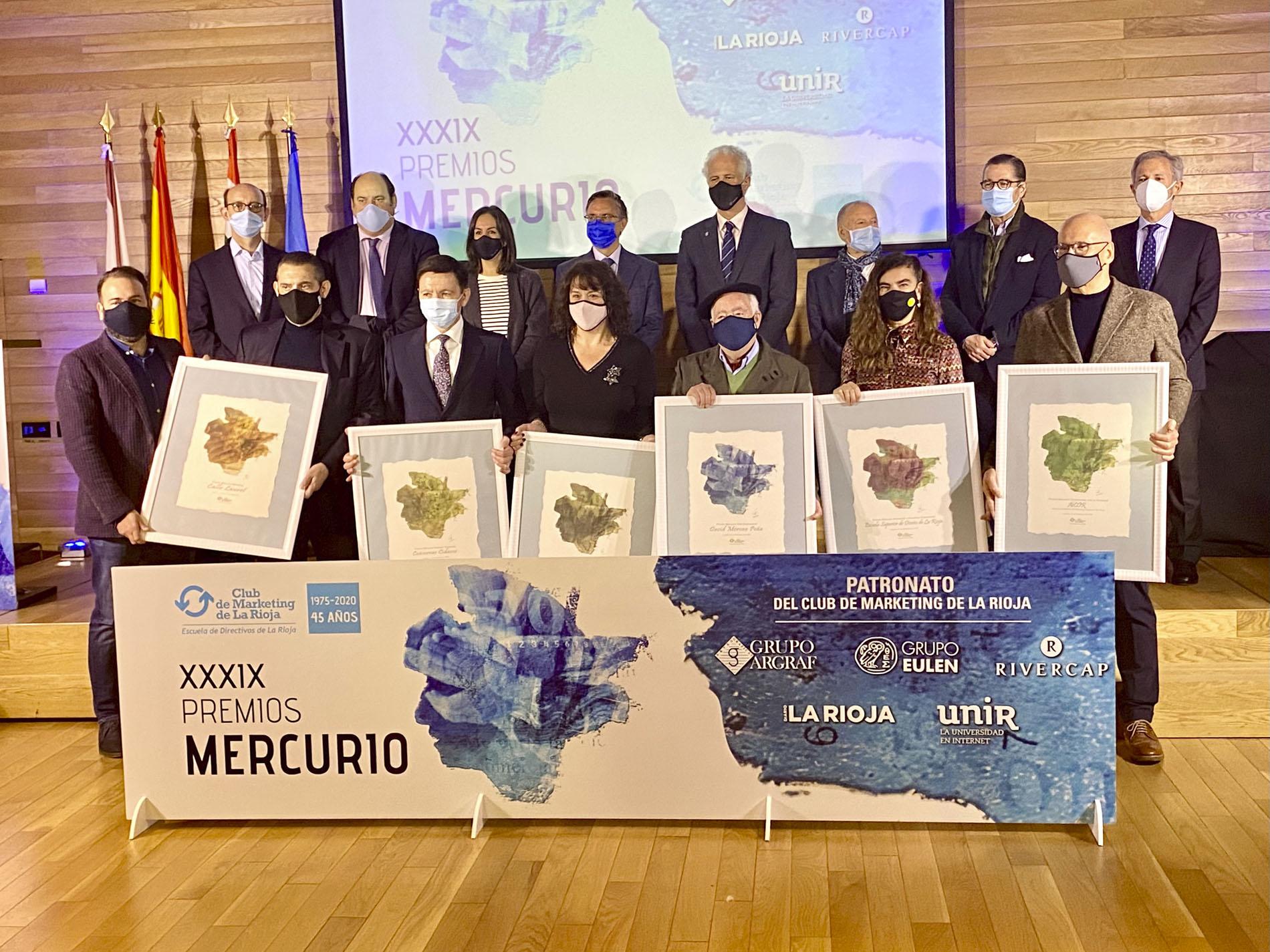 La Esdir recoge el Premio Mercurio Innovación