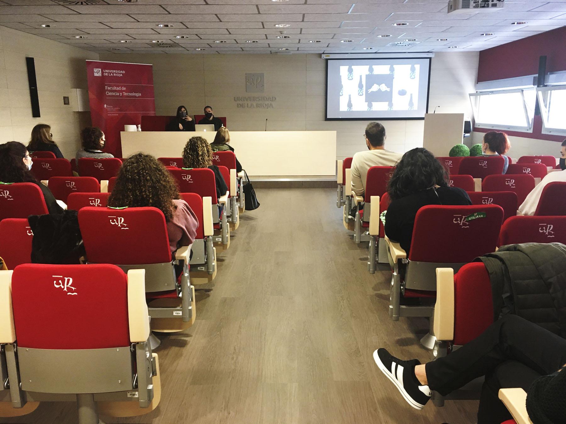 Conferencia de Hula y jornada colaborativa Enología UR con el Máster de Packaging