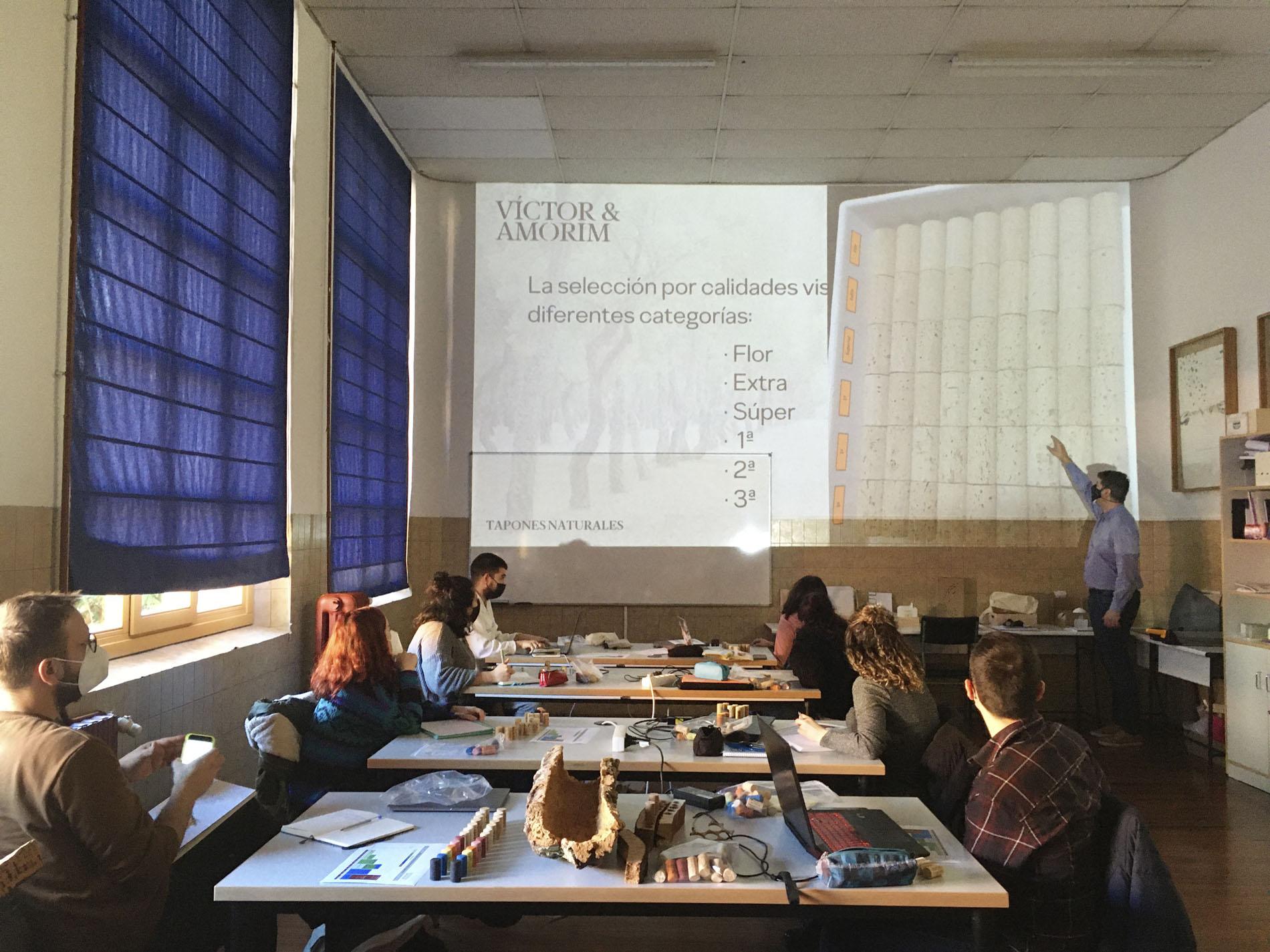 Sesión técnica Víctor y Amorim