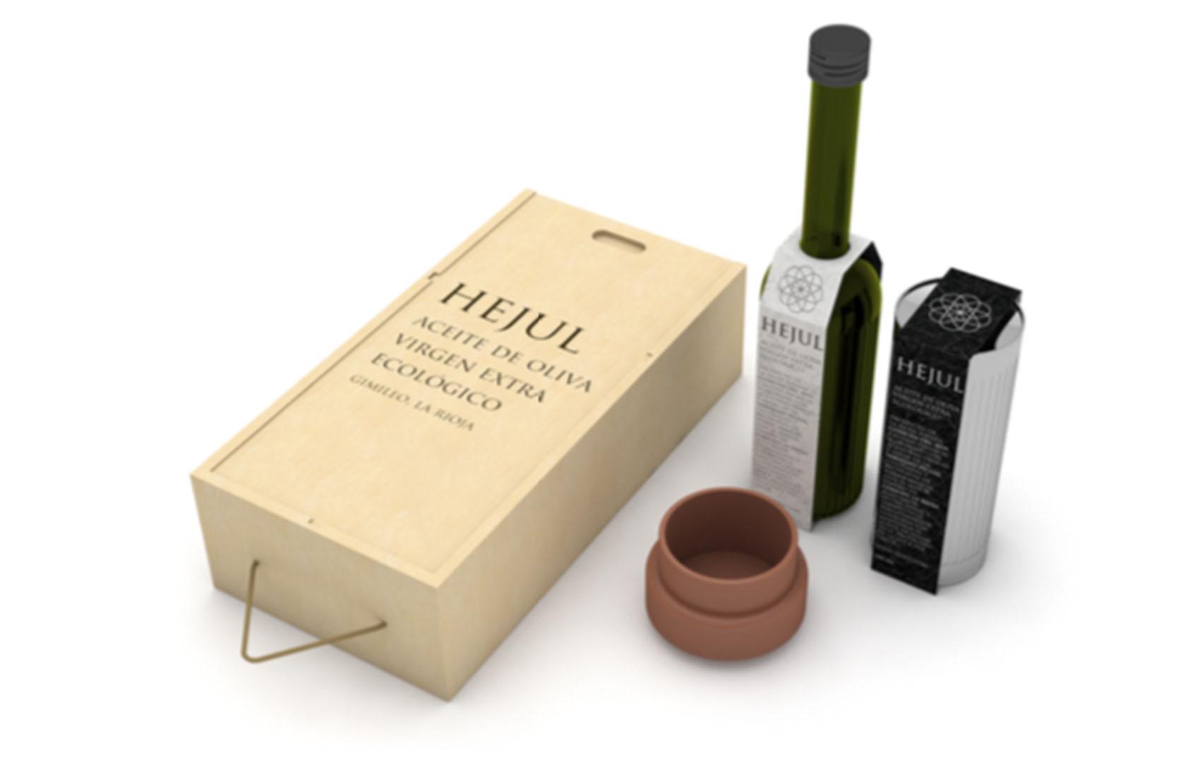 Proyecto de packaging para aceite