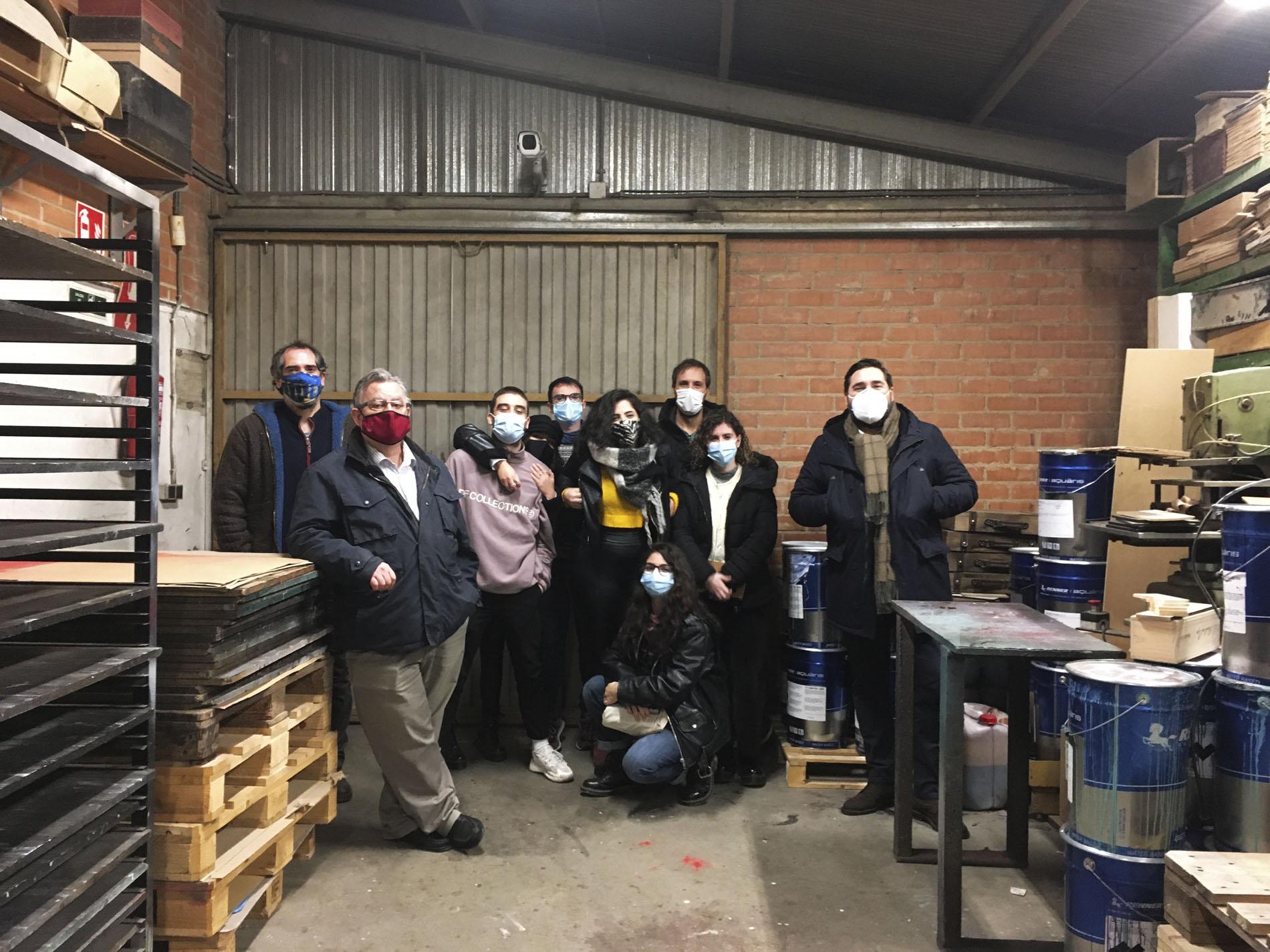 El Máster de Packaging visita la fábrica de envases de madera Vargas