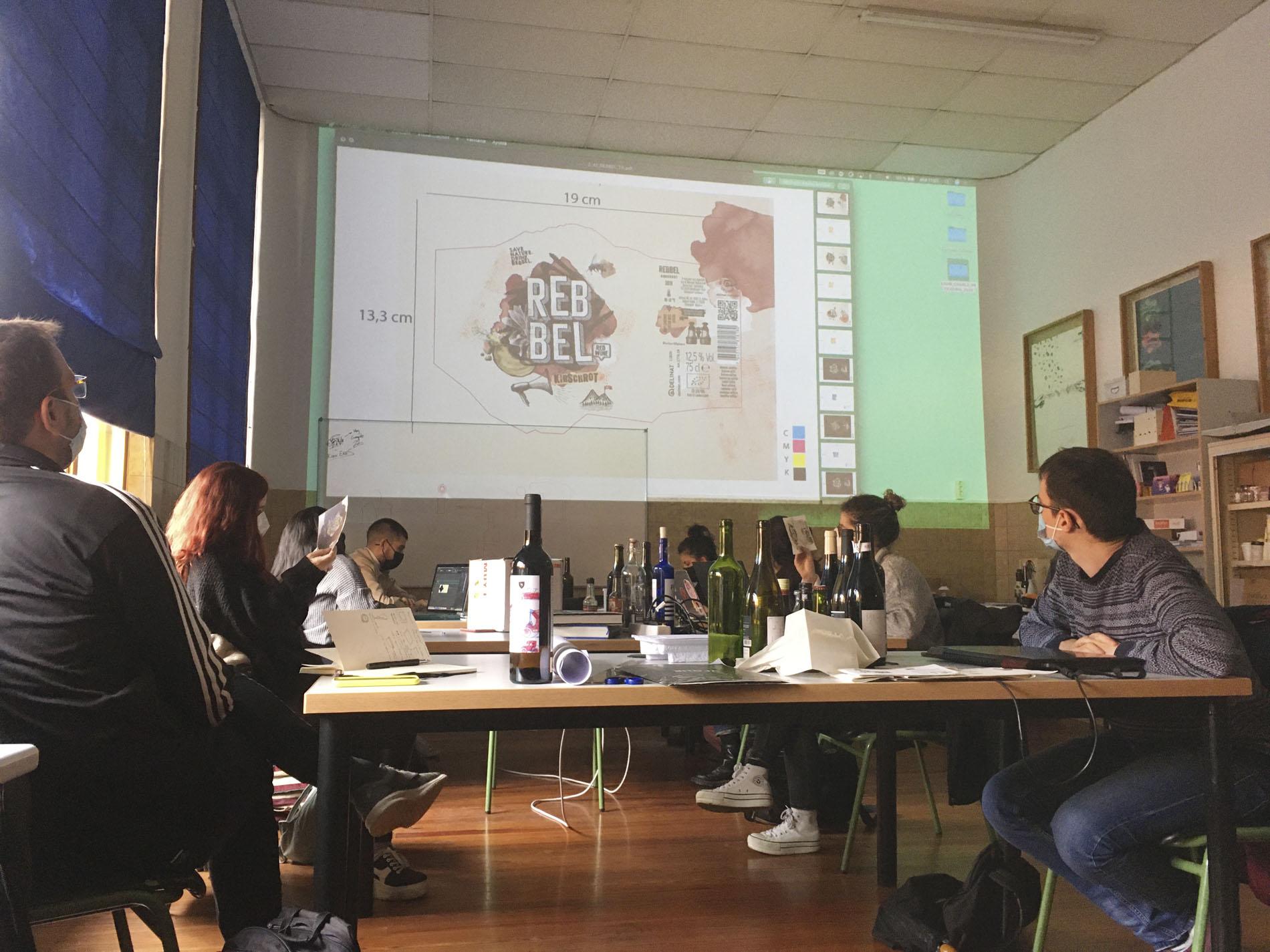 Sergio Soriano en el Máster de Packaging