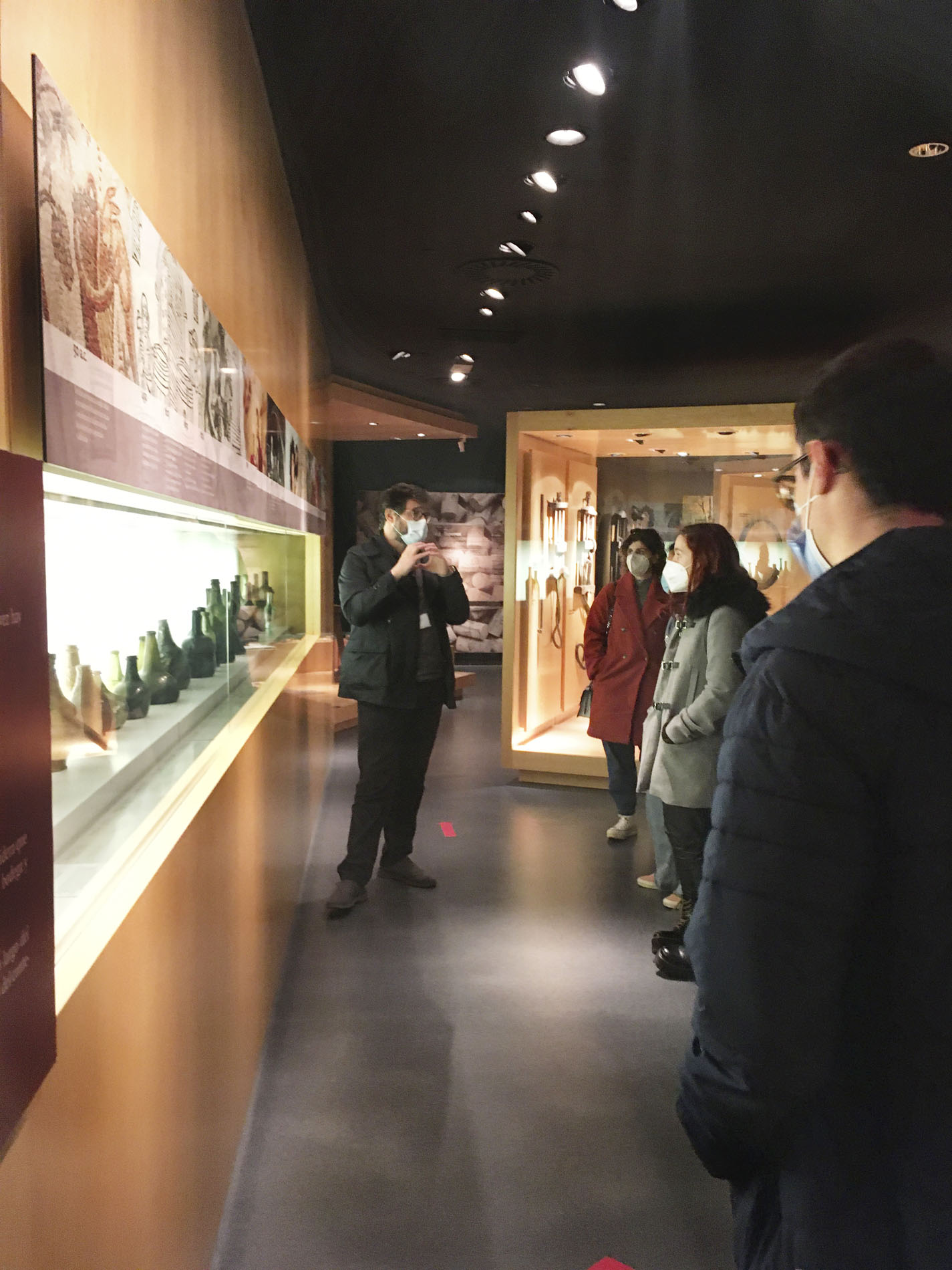Visita de Packaging Vitivinícola al Museo Vivanco
