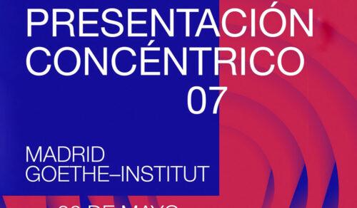 La Esdir en la presentación de Concéntrico 07