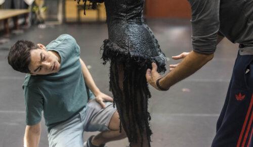El figurinista Iñaki Cobos en la Esdir