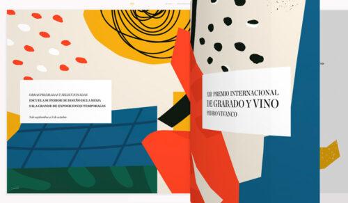 Catálogo online del XIII Premio Internacional de Grabado Pedro Vivanco