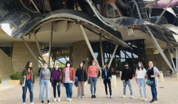 Los estudiantes del Máster de packaging visitan la Bodega Marqués de Riscal