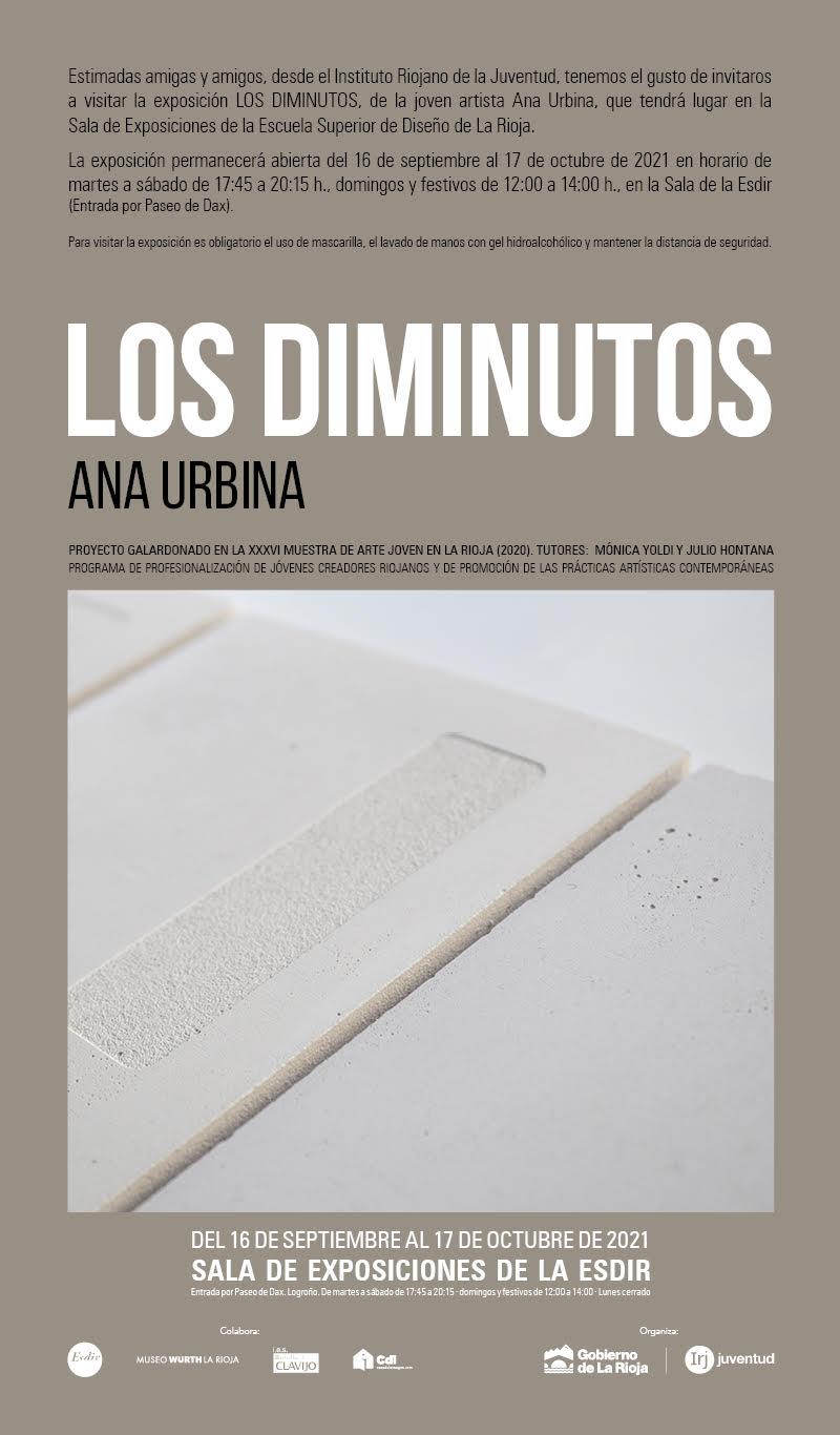 Los Diminutos de Ana Urbina. Exposición en Sala Pequeña