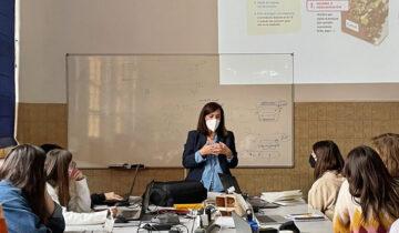 Isabel Uribe del Ctic Cita, en el Máster de Packaging