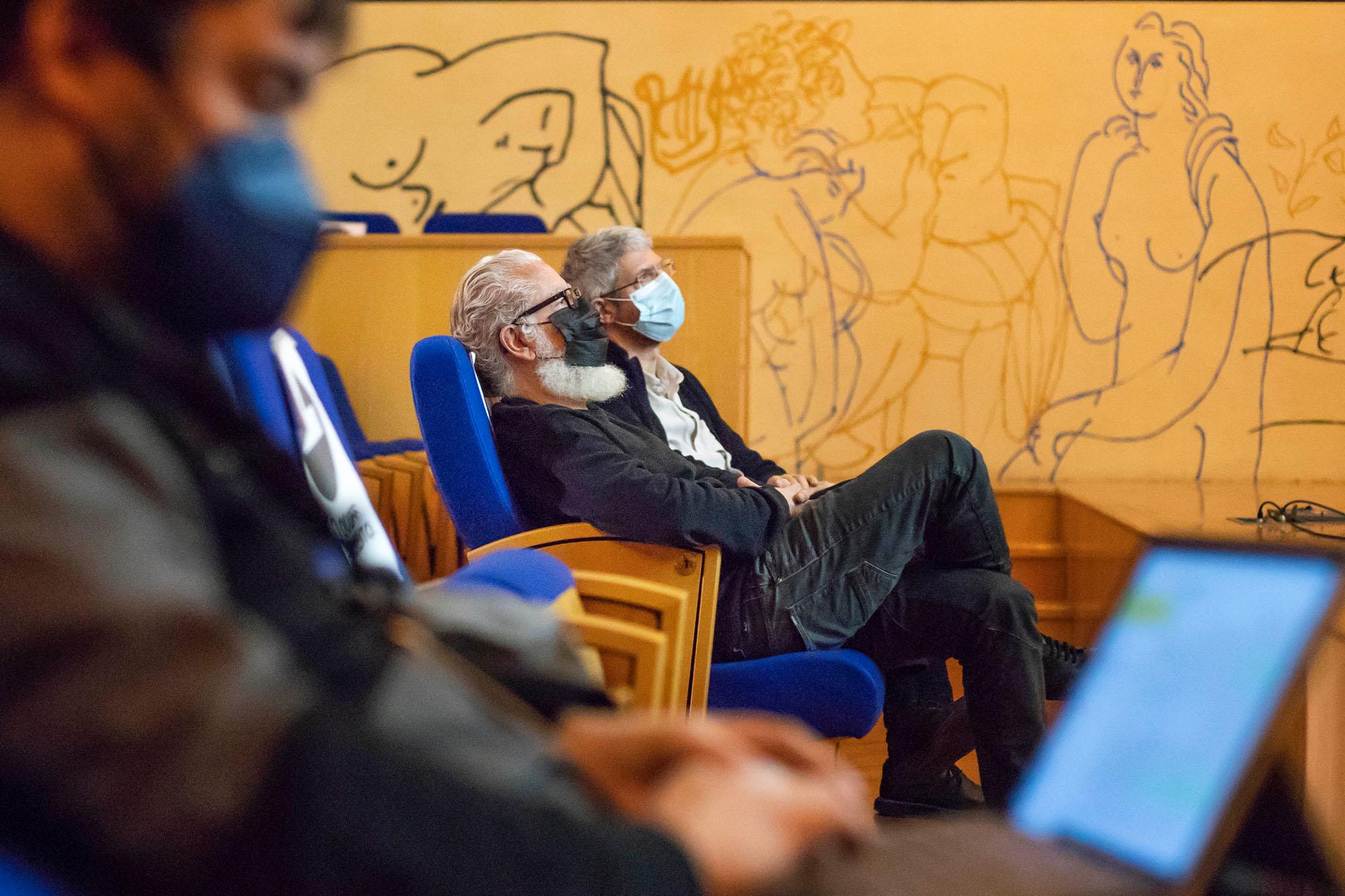 Lovisual: Conferencia de Carlos J. Cenamor en la Esdir