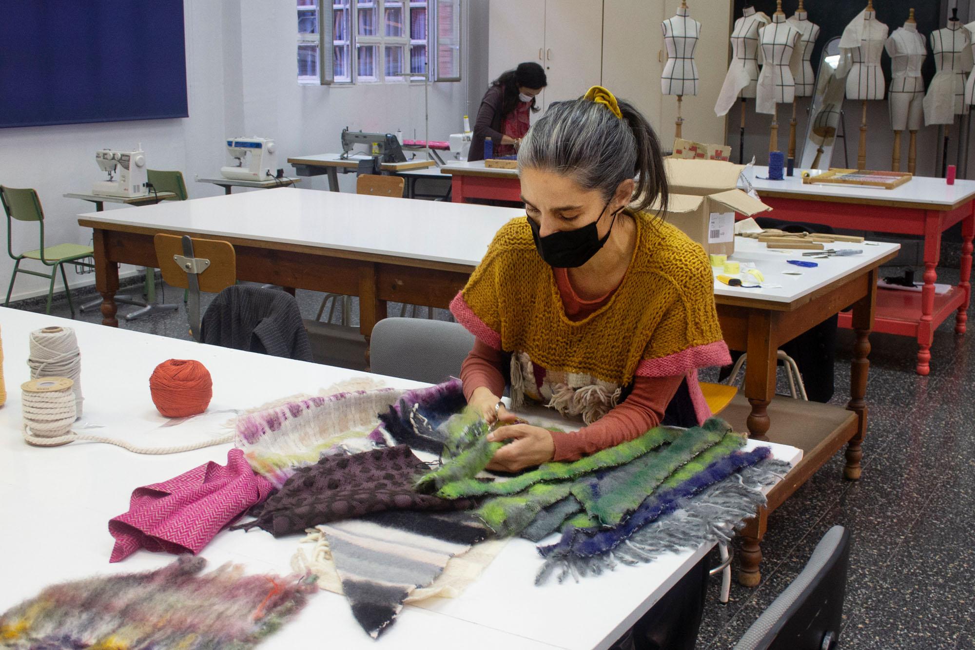 Lovisual. Taller de telar creativo para Moda con Lorena Madrazo
