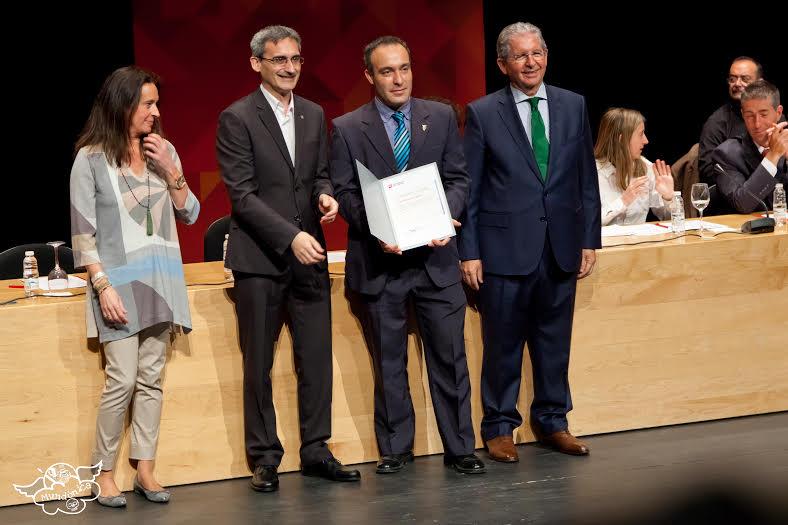 Los profesores de la Esdir Jorge Montes y Eduardo Martínez galardonados por la UR