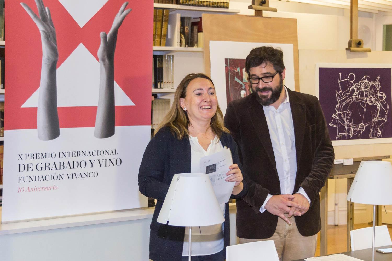 Palmarés del X Premio de Grabado y Vino Fundación Vivanco