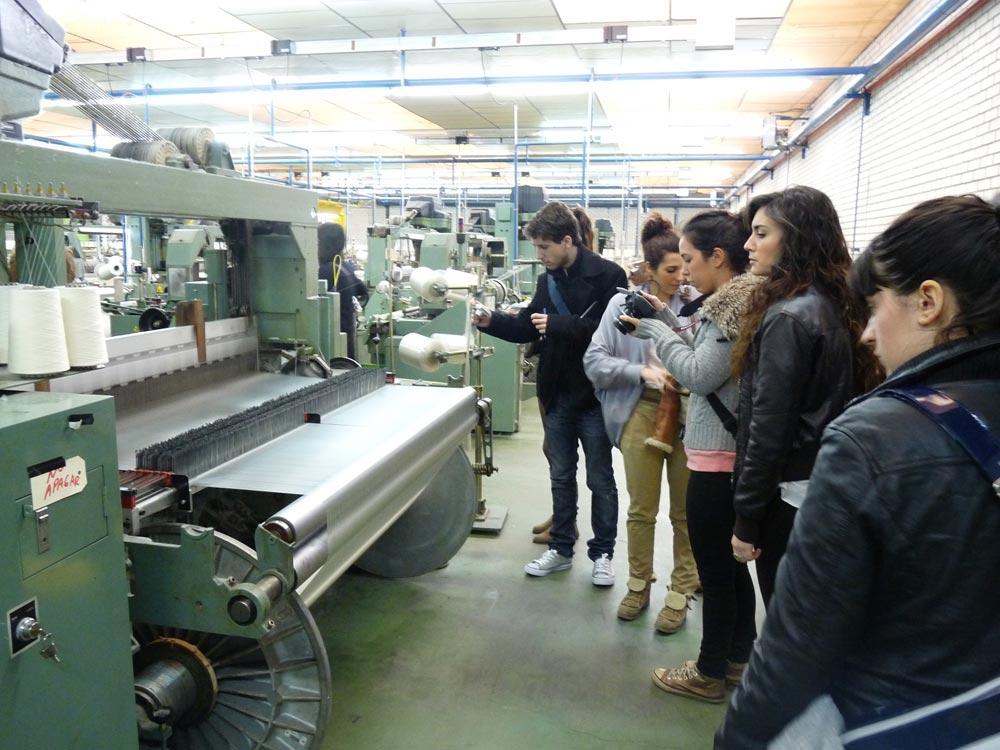 Visita a la fabrica de tejidos Fabril Sedera