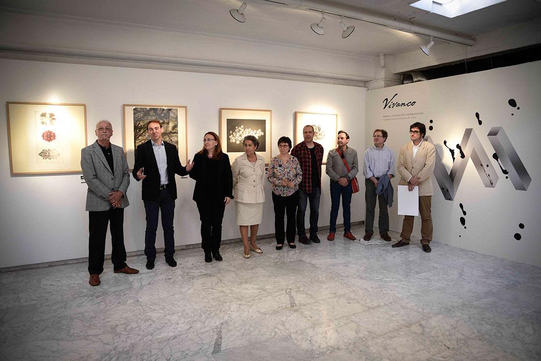 Inauguración de la exposición del VII Premio de Grabado y Vino Fundación Vivanco