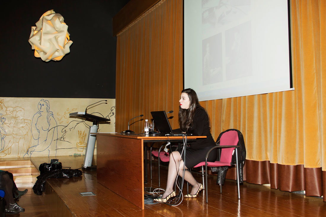 Marta Vaquerizo en la Esdir