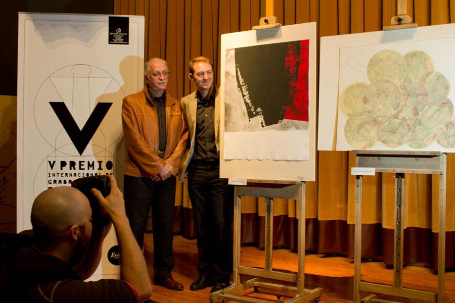 Palmarés del V Premio de Grabado y Vino Bodegas Dinastía Vivanco
