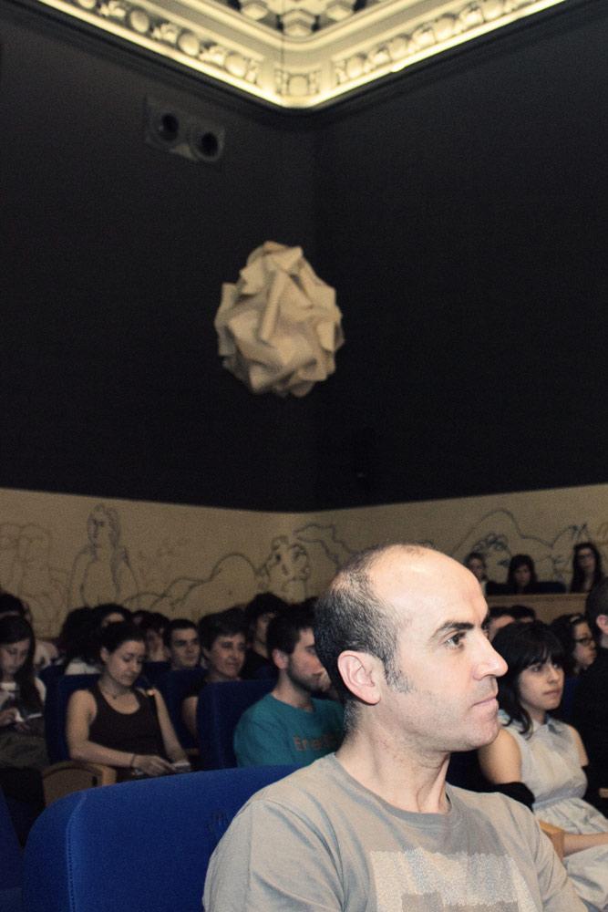 Clausura del curso con Isidro Ferrer