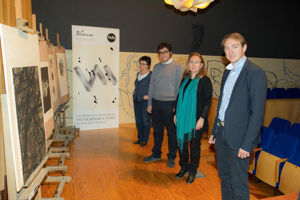 Palmarés del VII Premio de Grabado y Vino Fundación Vivanco