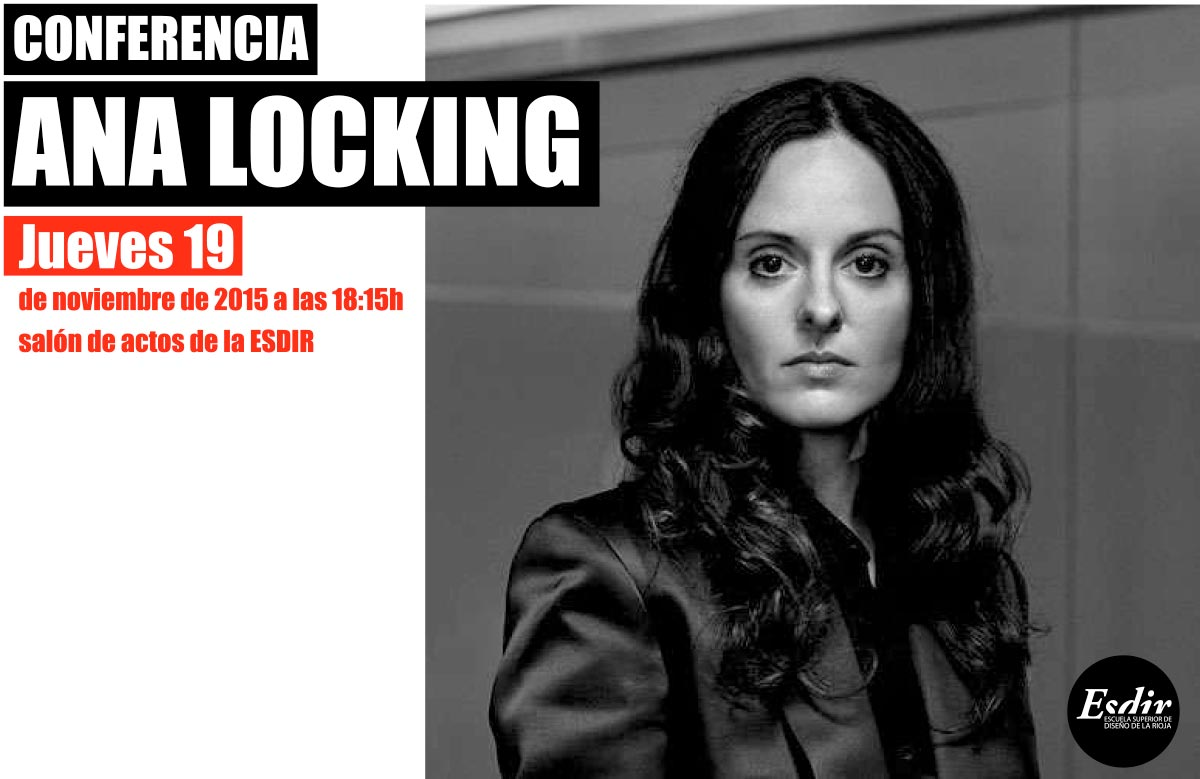 Conferencia de Ana Locking este jueves  en el Salón de Actos