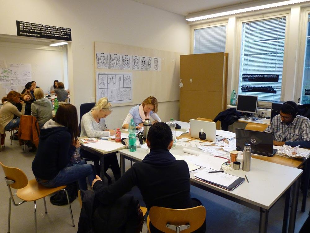 Alumnos de la Esdir asisten a la Project Week de Stuttgart