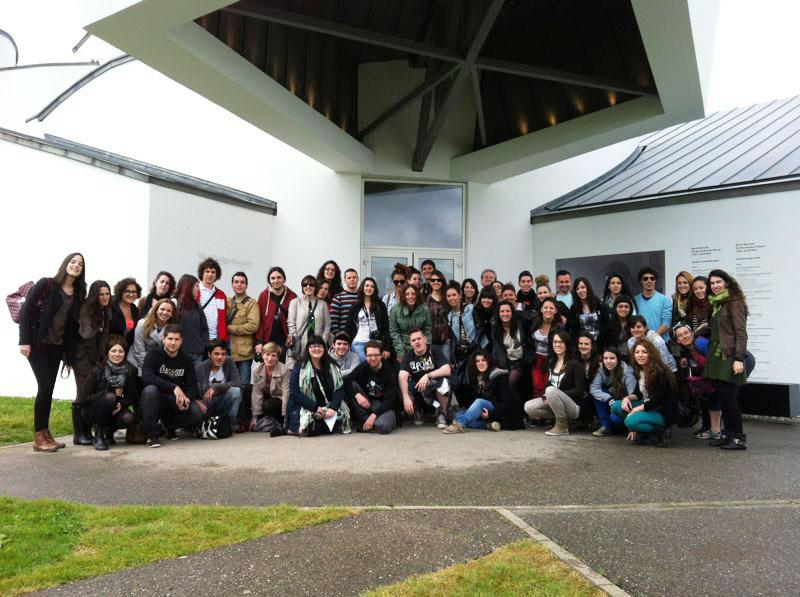 Foto en grupo del viaje a Basilea