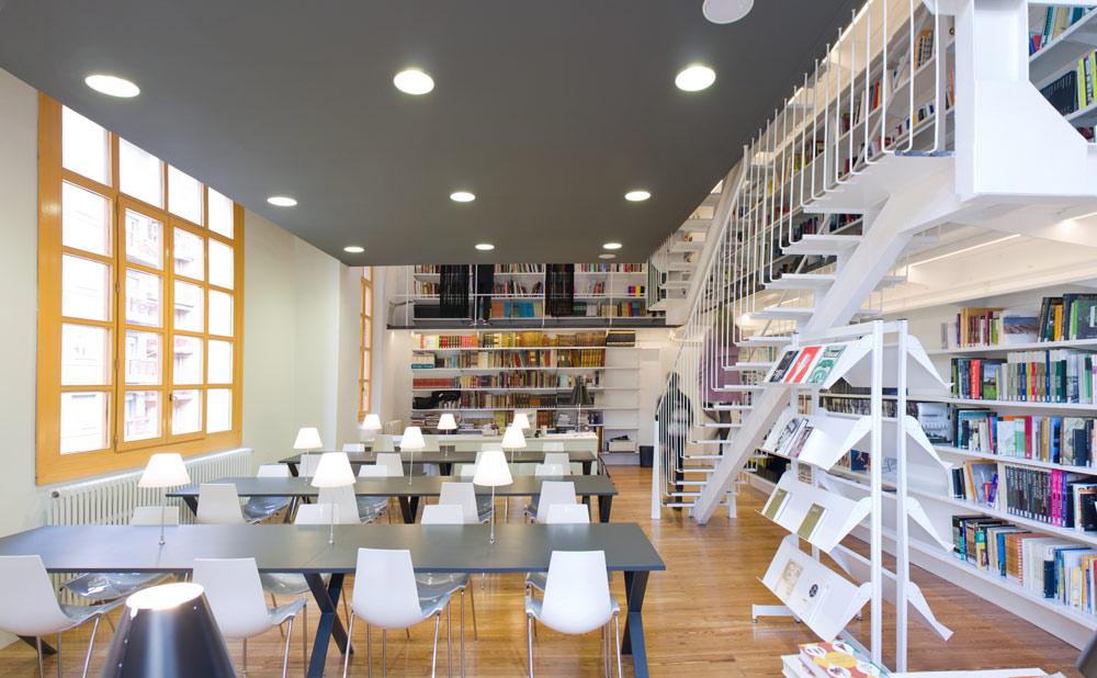 Biblioteca esdir escuela superior de dise o de la rioja for Diseno de interiores universidad publica