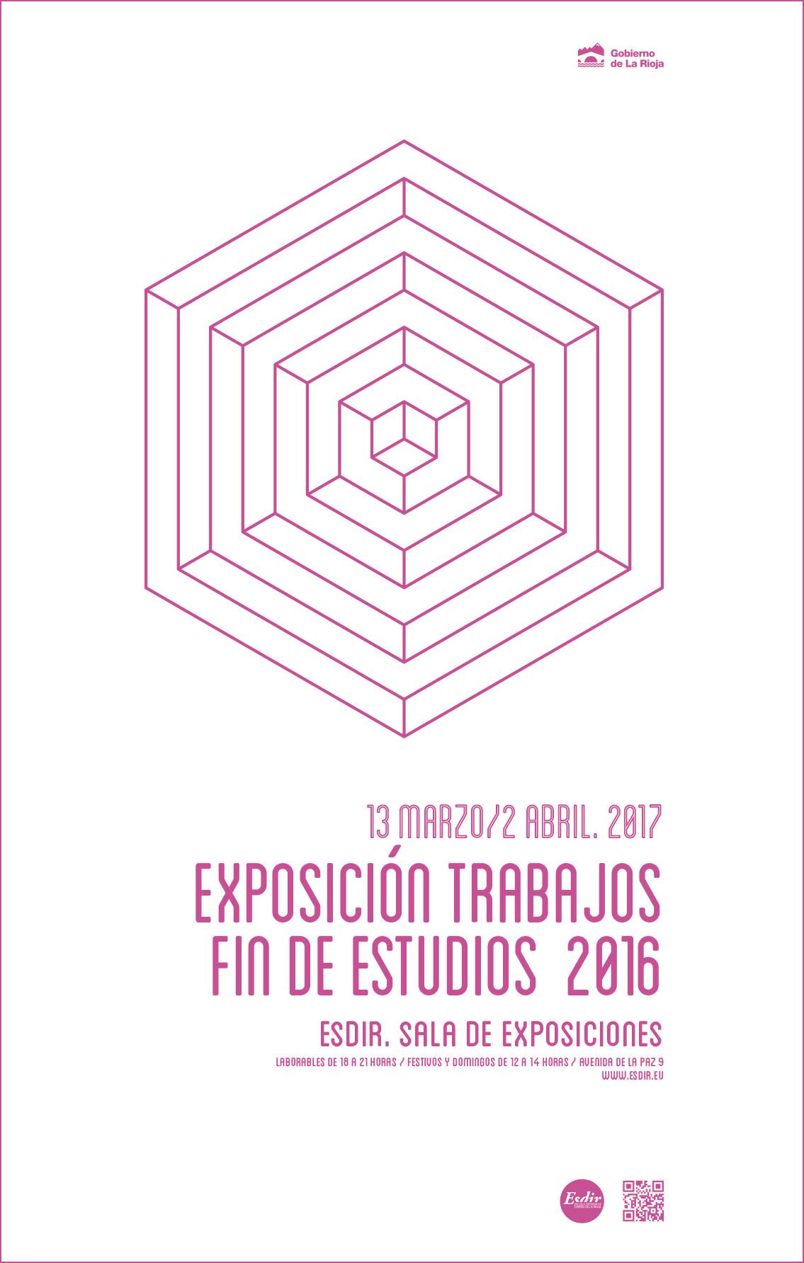 """Exposición """"Trabajos Finales 2016"""""""