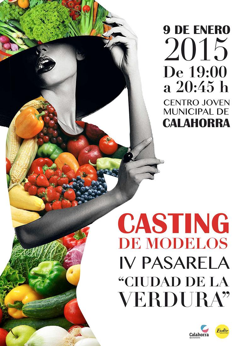 Cartel del casting de modelos para la IV Pasarela