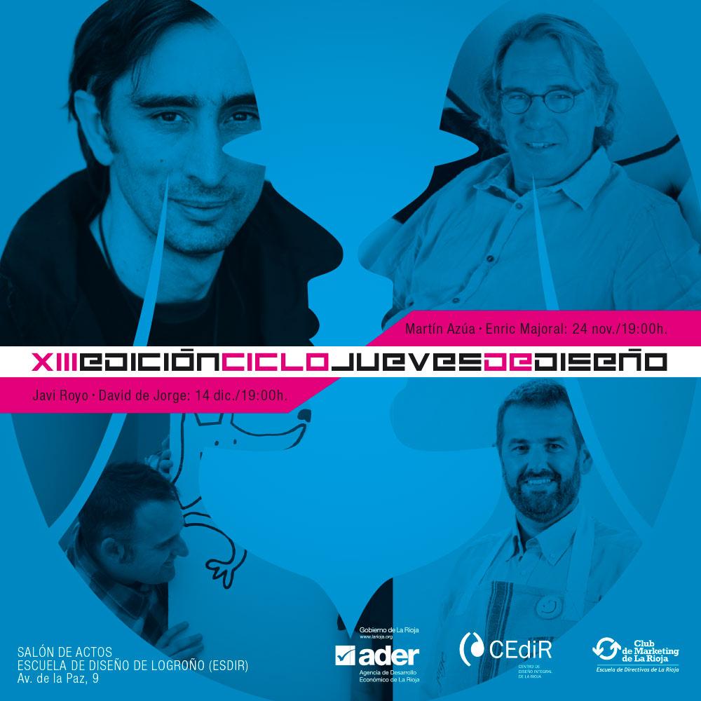 XIII Edición de los Jueves de Diseño.