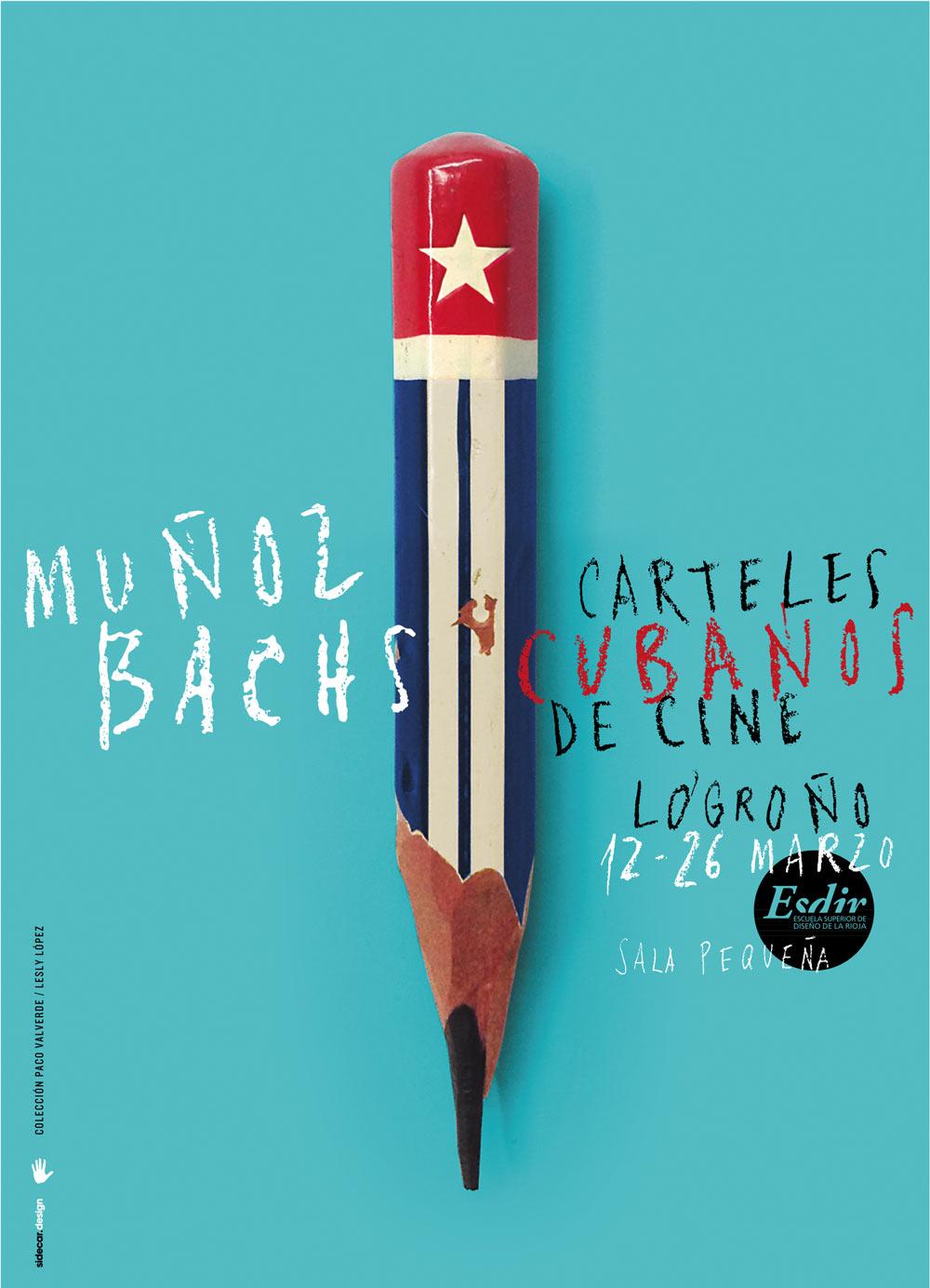 Exposición: Muñoz Bachs, Carteles Cubanos de Cine