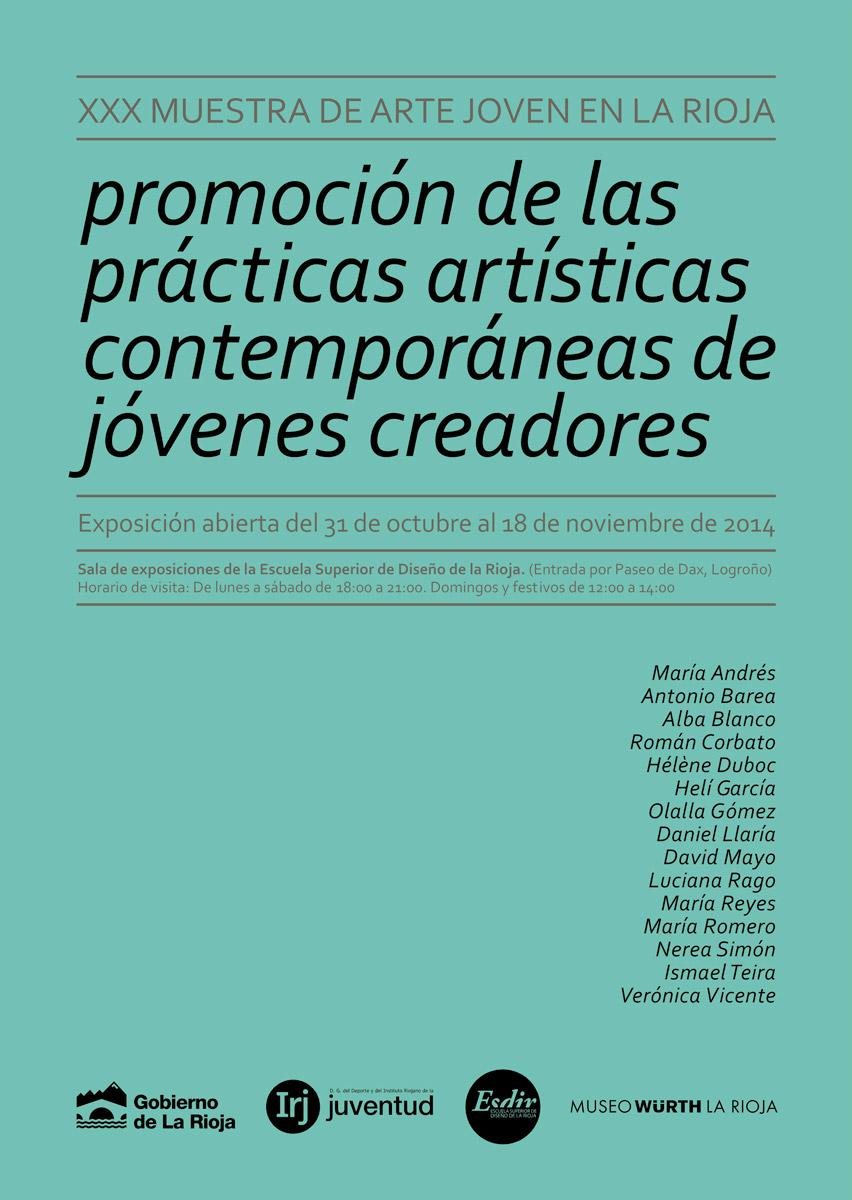 XXX Muestra de Arte Joven en La Rioja -2014-