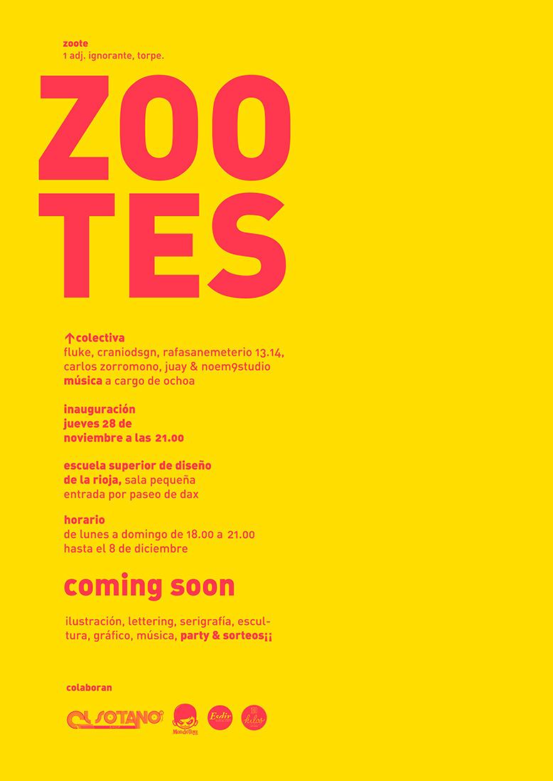 ZOOTES. Exposición en Sala Pequeña