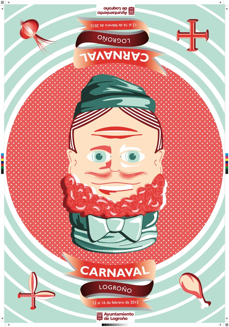 Rubén Ijalba Tobalina gana el concurso del Cartel de Carnaval