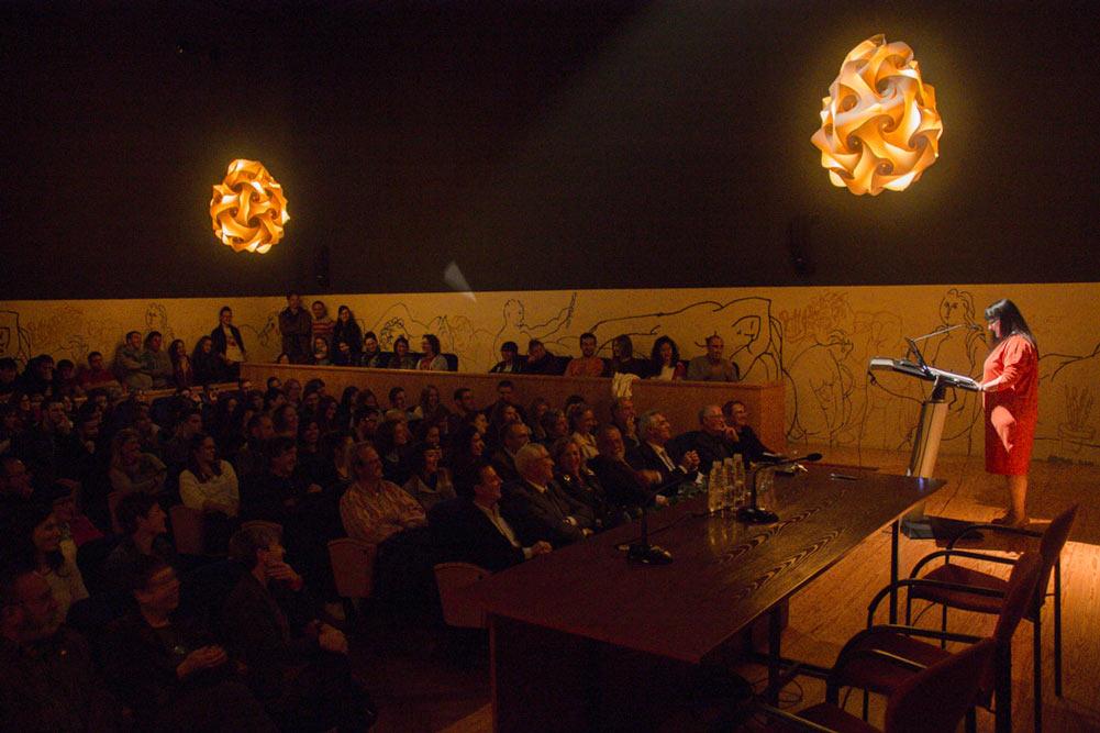 Inauguración del curso 2013-2014 y despedida a Ricardo González