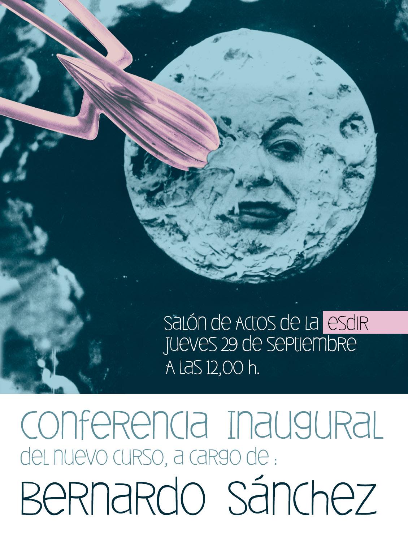 Este jueves Conferencia de inicio de curso a cargo de Bernardo Sánchez