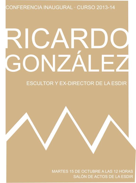Conferencia de Ricardo González