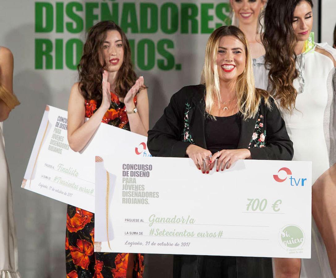 Alumnas de la Esdir ganadoras del I Concurso Jóvenes Diseñadores de La Rioja