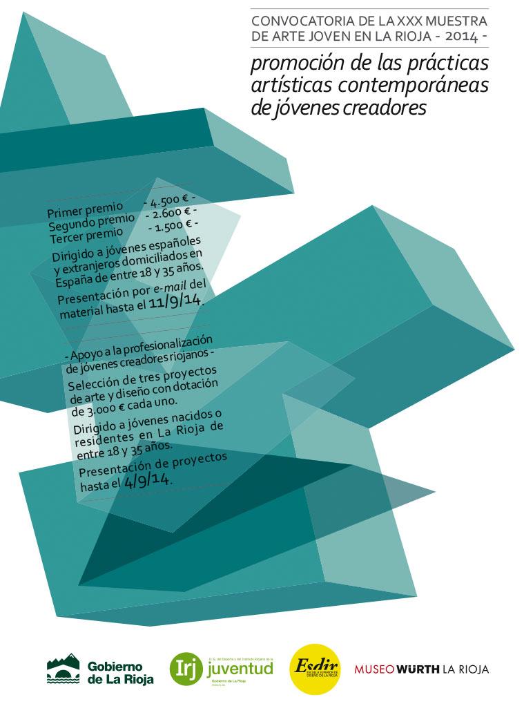 Convocatoria de la XXX Muestra de Arte Joven en La Rioja 2014