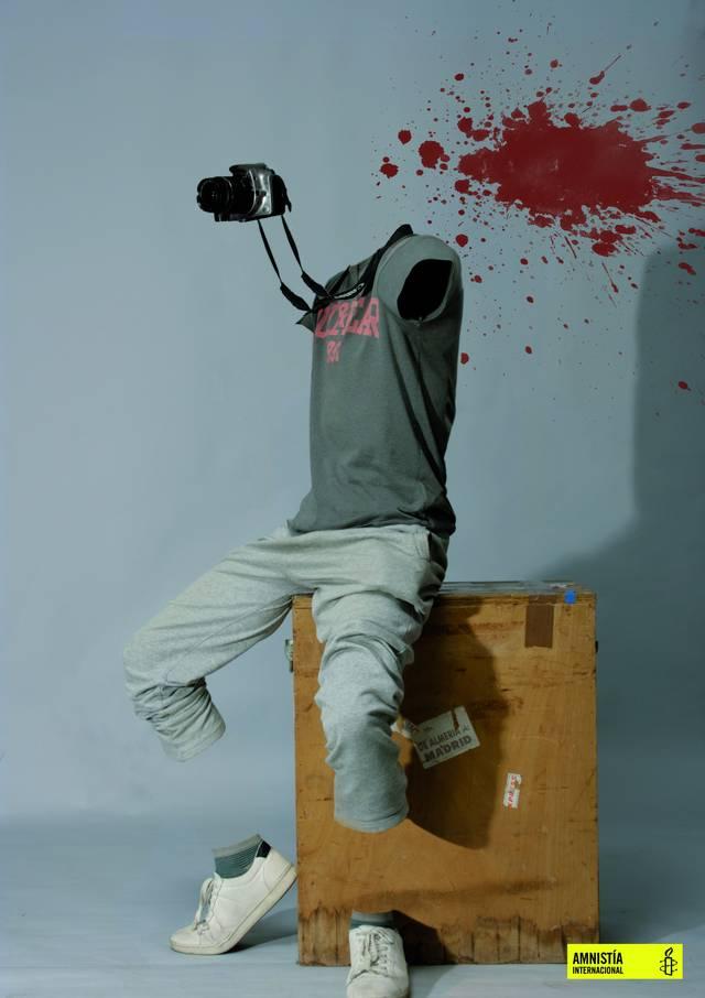 Amnistía Internacional publica un fotomontaje de estudiantes de la Esdir