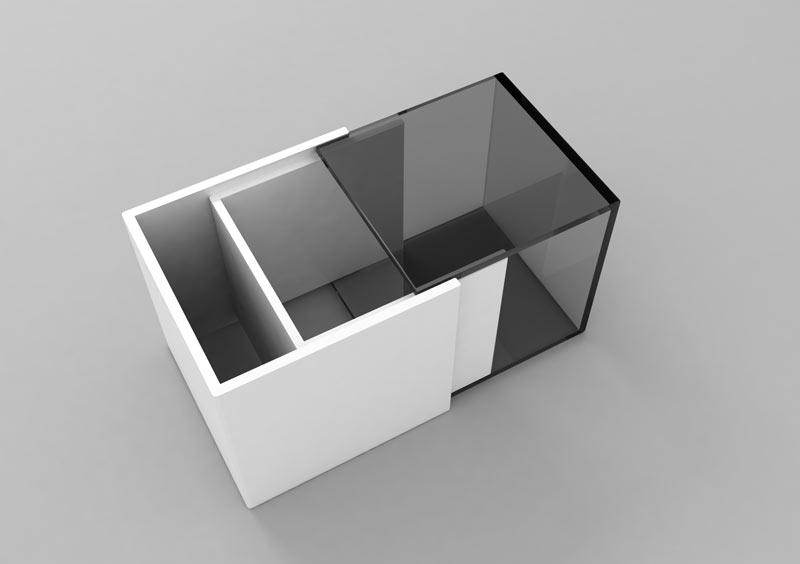 Propuestas para el mobiliario de la Sala Grande de exposiciones