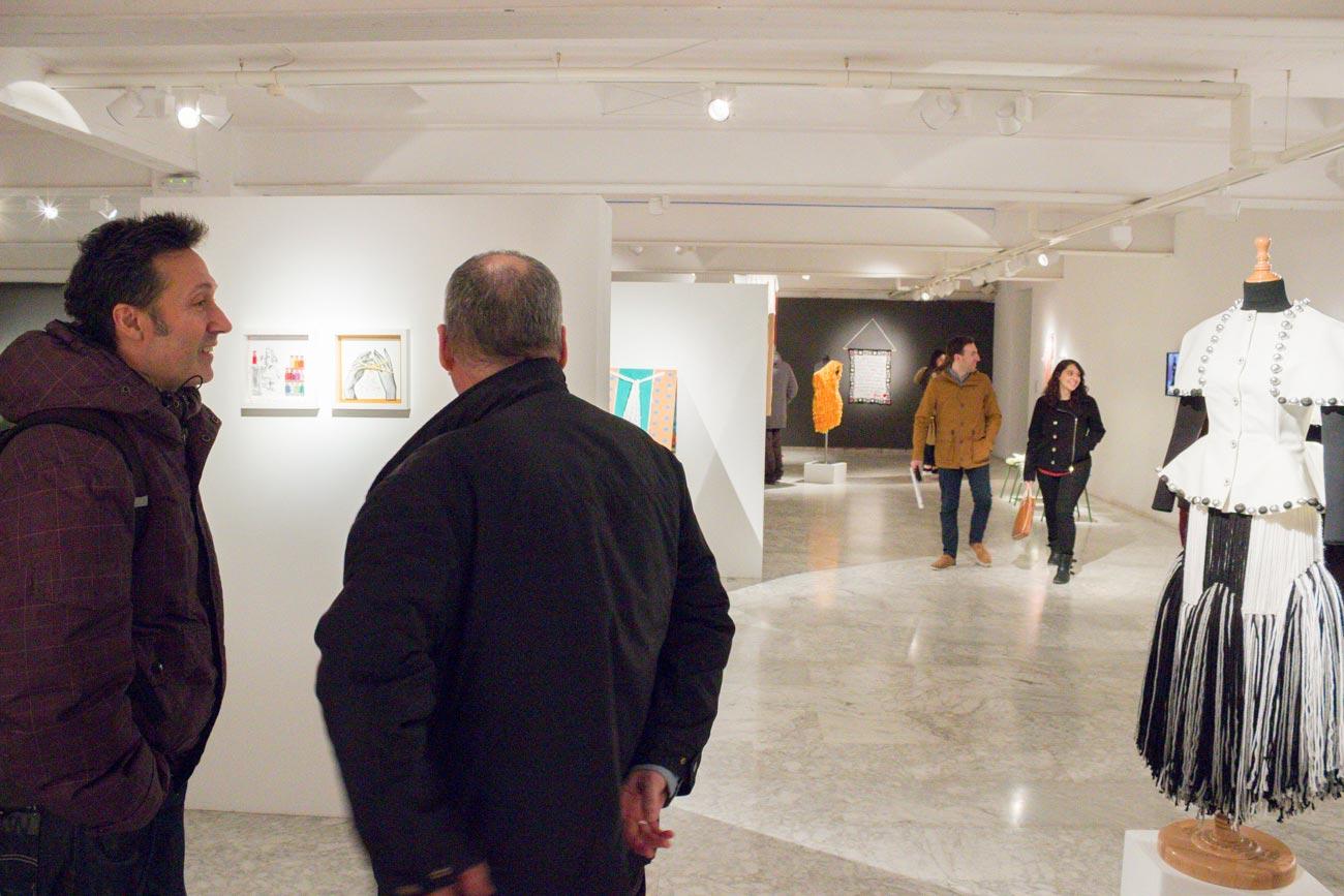 Inauguración de la IX Exposición del Objeto: La Lana.