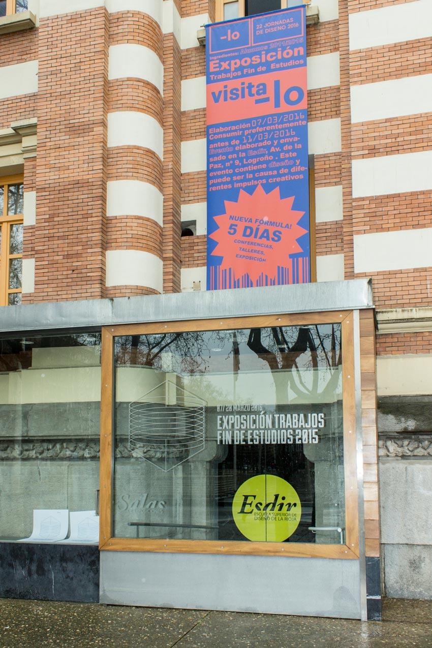 Inaugurada la exposición de los Trabajos Fin de Estudios 2015
